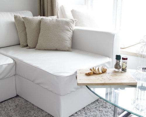Custom Leather Sofa Bed Slipcover   IKEA Manstad   Sofas