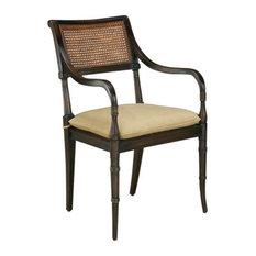 Regency Arm Chair Antique Black