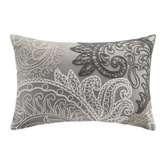 INK+IVY Dec Pillow With Embroidery, Taupe