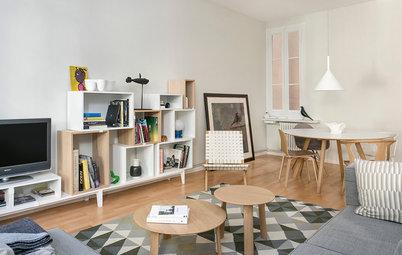 ¿Tu salón es pequeño y oscuro? 6 claves para elegir los muebles
