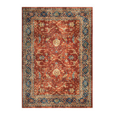 "Palmetto Living by Orian Alexandra Ankara Area Rug, Red, 7'10""x10'10"""