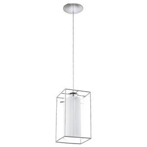 Eglo Loncino1 Pendant Ceiling Light, Polished Chrome