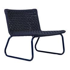Marina Lounge Chair, Dark Blue