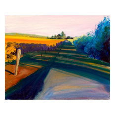 "Bring home Napa Valley with ""Walking the Vines"" by Ann Rea, oil painting"