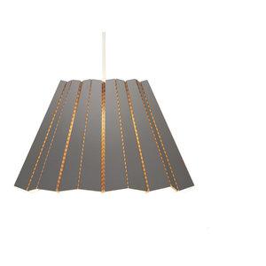 Andbros Model No 1 Pendant Lamp, Grey, Small