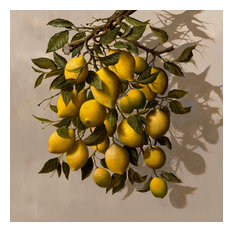 """""""The Lemon Tree"""" Oil on Canvas by H. Hargrove"""
