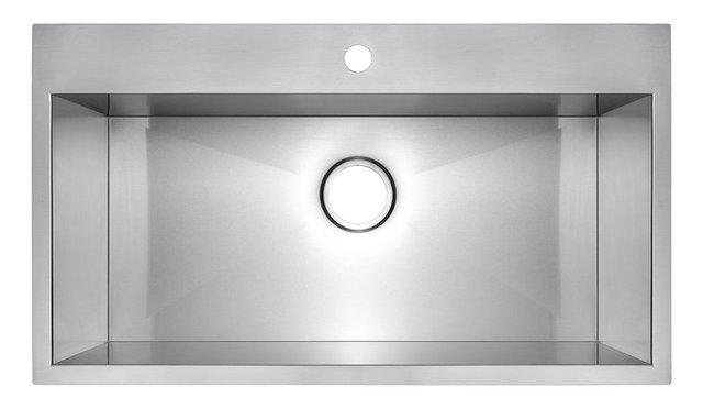 Single Basin Kitchen Sink 33 X 22 33x22x9 akdy top mount handmade stainless steel single basin 33x22x9 akdy top mount handmade stainless steel single basin kitchen sink workwithnaturefo