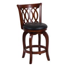 Edmond Counter Height Chair - Espresso Braid Back