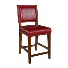 Brook Stool Red Counter Height