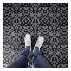 Verona Tile Stencil - DIY Faux Tiles - Cement Tile Stencils, Large