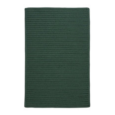 Colonial Mills, Inc - Colonial Mills Solid Myrtle Green Area Rug, 12'x15' - Outdoor Rugs