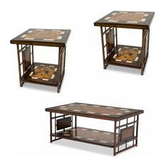 Aico Furniture, Sao Paulo 3-Piece Occasional Table Set