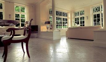 Gotland-Kalkstein für eine private Villa
