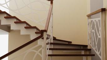 Проект лестницы для согласования с заказчиком.