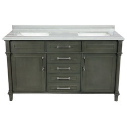 Traditional Bathroom Vanities And Sink Consoles by LAVIVA