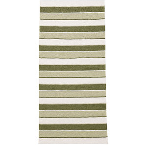 Tore Vinyl Floor Cloth, Olive, 70x200 cm