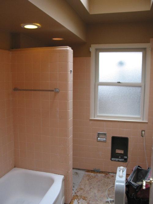 Remodel of 1950's ranch bathroom