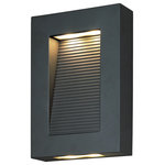 Maxim Lighting International - Avenue LED Outdoor Wall Lantern - Create a welcoming exterior with the Avenue LED Outdoor Wall Sconce. This wall sconce is finished in a unique color with glass shades and shines to illuminate your home's landscaping. Hang this sconce with another (sold separately) to frame your front door.