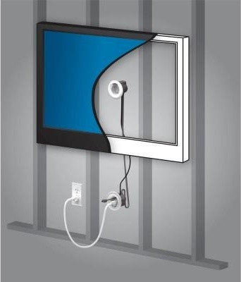tv cord hiding solutions. Black Bedroom Furniture Sets. Home Design Ideas