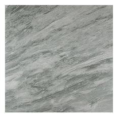 "12""x24"" Marmocrea Porcelain Tiles, Set of 7, Ocean Gray"