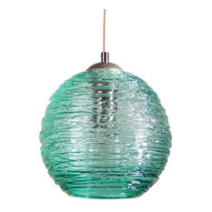 providence art glass and lighting contemporary spun glass globe pendant lights teal 6 art glass pendant lighting