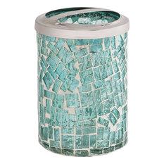 Pomeroy Sharad Glass Bath Accessory, Azure