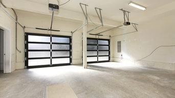 Installation of 2 overhead doors in Rockville, MD
