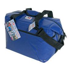 24-Pack Vinly Cooler, Royal Blue
