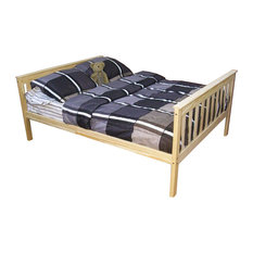 Furniture Barn USA - Full Size Mission Style Bed, Unfinished - Kids Beds
