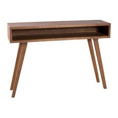 Fancy Scandinavian Console Table, Cinnamon