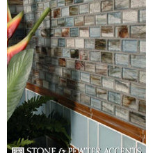 Stone & Pewter Glass