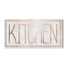 OliverGal 'Kitchen' Art, 10x30