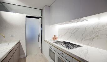 Glass Cavity Slider Kitchen