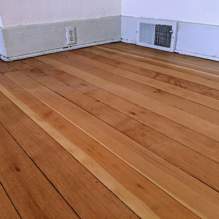 Classic 100+ year old VG Fir floors