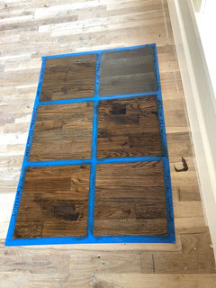 Special Walnut Duraseal Stain On White Oak Floors