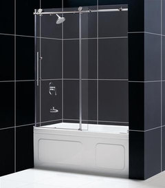 Looking For A Trackless Shower Door For A Tub Shower