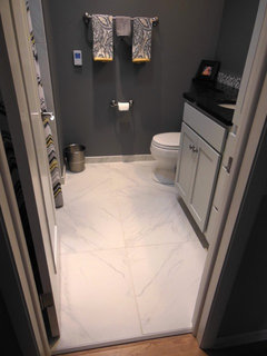 Can I Use 12x24 Floor Tiles In A Small Bathroom