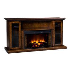 Topeka Innovative Concepts - Cozy Glow 206EB Electric Fireplace, Red ...