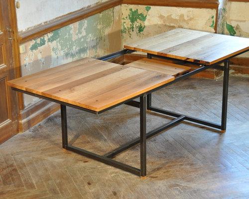 table à rallonge industrielle