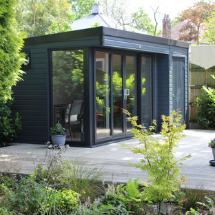 Contemporary Garden Shed And Building