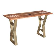 Charleston Acacia Wood Console Table