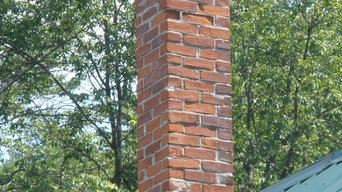 Before and after chimney