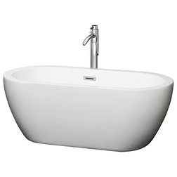 Contemporary Bathtubs by Wyndham Collection