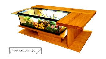Table basse aquarium AMAZONE SUPREME