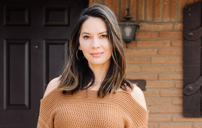 My Houzz: Olivia Munn Thanks Mom With the Kitchen of Her Dreams