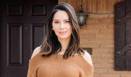 My Houzz: Olivia Munn Thanks Mum With the Kitchen of Her Dreams