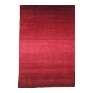 Ombre Stripes Indoor Rug Contemporary Area Rugs By