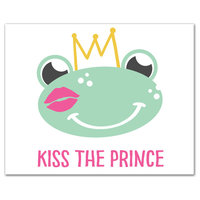 Kiss The Prince 8x10 Canvas Wall Art