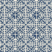 Delray Azure EasyCare Fabric by the Yard