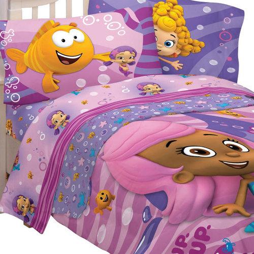 Store51 LLC   Bubble Guppies Fun 4pc Twin Single Bedding Set   Kids Bedding